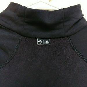 adidas Shirts - adidas quarter zip pullover fleece men's M